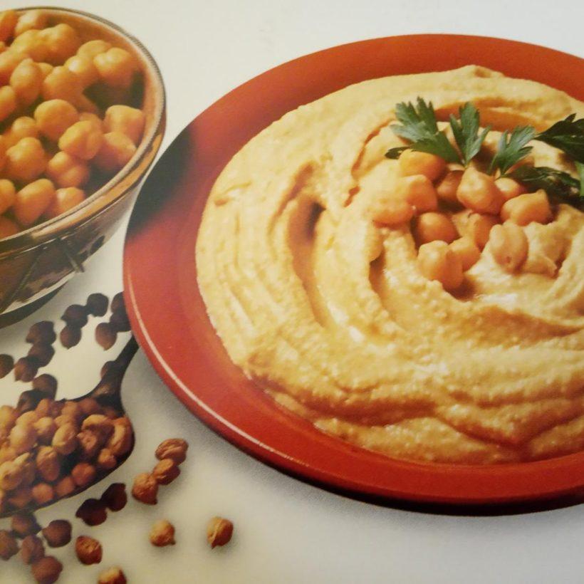 Hummus di ceci neri